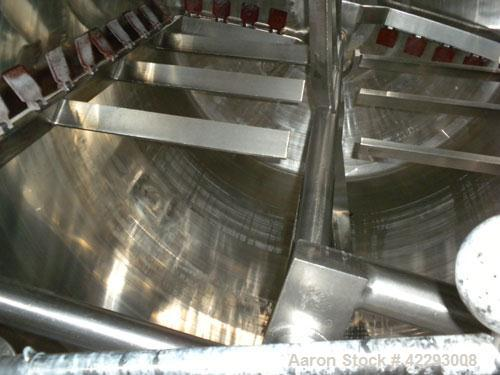 Used- 850 Gallon Stainless Steel Lee Industries Double Motion Vacuum Kettle