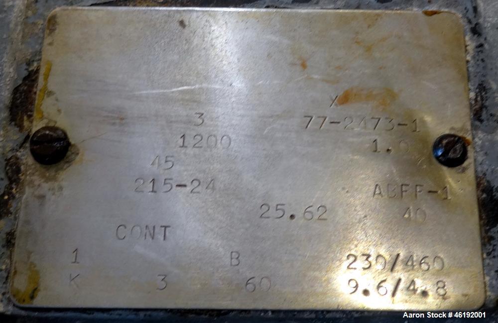 """Used- Lee Industries Kettle, 200 Gallon, Model D9MT, 316 Stainless Steel. 48"""" Diameter x 35"""" deep. Jacketed hemispherical bo..."""