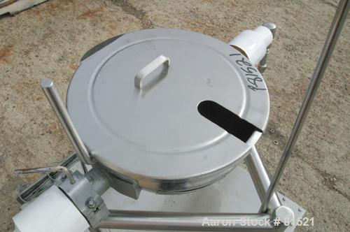 Used- 5 Gallon Stainless Steel Lee Kettle, Model 5CD
