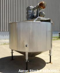 Used- Chester Jensen Dual Motion Cooker-Cooler, Model 70N100, 316 Stainless Stee