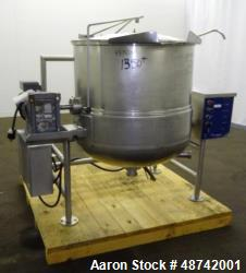 Used- Cleveland Mixer Kettle, Model HA-MKGL-80T
