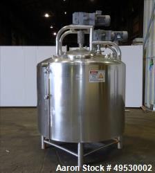 Used- DCI 500 Gallon Processor, Stainless steel. Scrape Side Agitator and High speed prop.  Dish Top & Dish Bottom.   S/n 85...