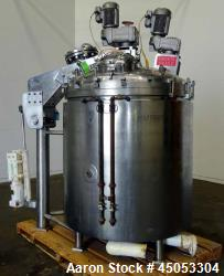 "Used- Groen Triple Motion Kettle, Model TA300 V/P, 300 Gallon, 316 Stainless Steel, Vertical. Approximate  54"" diameter x 54..."