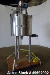 Used-Lee Industries Kettle, 100 Gallon, Model 100D9MT, Stainless steel.  Jacket rated 90 psi @ 332 deg F.  Vessel designed f...