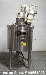 Used-Lee Industries 50U7S Used 50 gallon Lee Industries triple motion kettle, model 50U7S, stainless steel construction, int...