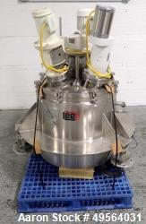 "Used- Lee Industries 50 Gallon Triple Motion Kettle, Model 50U7S, Stainless Steel. Approximate 36"" diameter x 12"" straight s..."