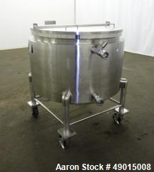 Used- United Utensils Kettle, Model VT-100, Approximate 100 Gallon.