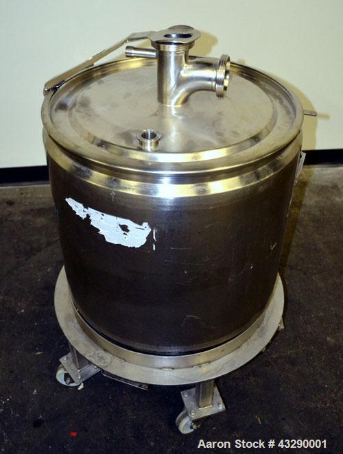 Used- 100 Liter Stainless Steel Muller Kettle