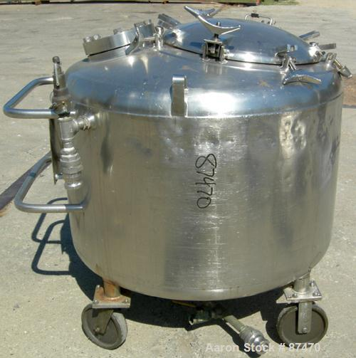 Used- 150 Gallon Stainless Steel Kettle