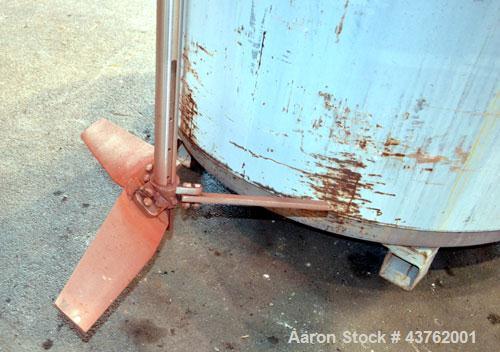 Used-  700 Gallon Stainless Steel Newarc Welding Kettle
