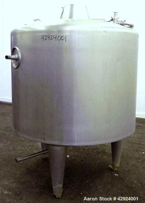 Used- 250 Gallon Stainless Steel Kettle