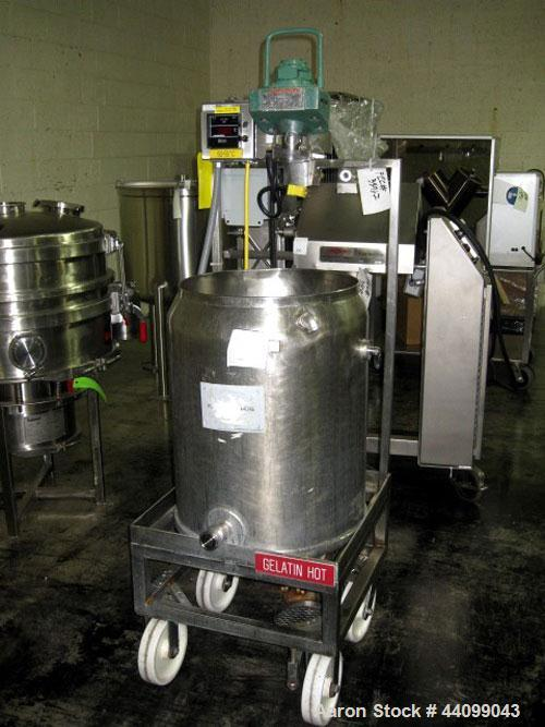 Used- 20 Gallon Stainless Steel Kettle
