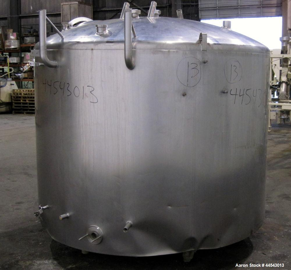Used- 1000 Gallon Stainless Steel Kettle