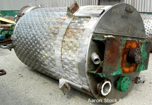 Used- 1200 Gallon Stainless Steel Kettle, Model 85-Q-20VMCMX