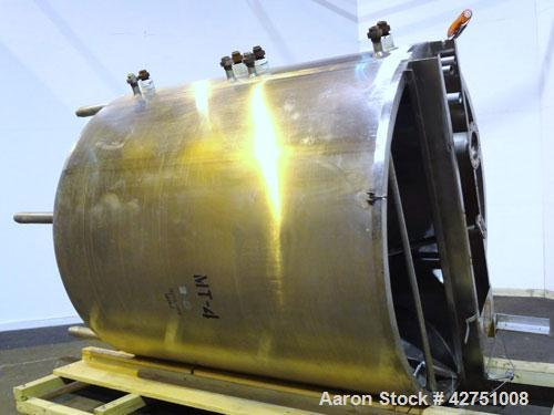 "Used- Northland Stainless Kettle, 2000 Gallon, 316 Stainless Steel, Vertical. 84"" Diameter x 94"" straight side. Open top wit..."