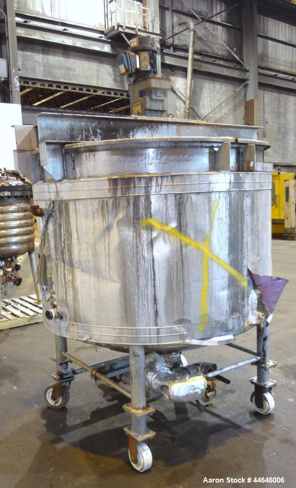 Used- 600 Gallon Stainless Steel Northland Stainless Kettle, Model PV-2