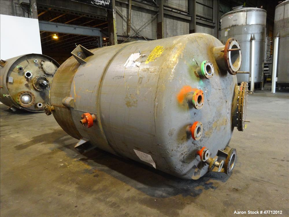 Used- Steel-Pro Pressure Tank, Approximate 1700 Gallon, 304 Stainless Steel, Ver