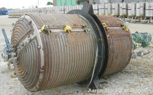 Used- 600 Gallon Stainless Steel Mueller Kettle