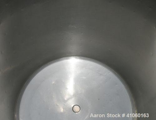 "Used- Perma-San Kettle, 100 Gallon, Model JOVC, 316 Stainless Steel, Vertical. 30"" diameter x 34"" straight side, open top wi..."