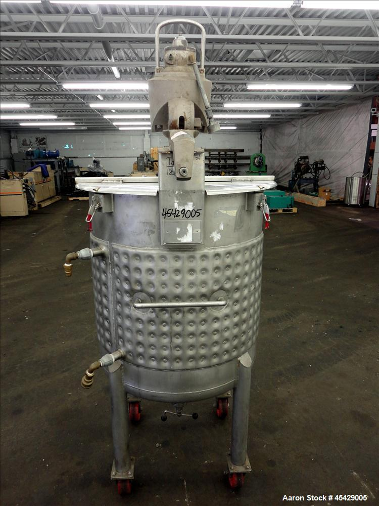 Used- 99 Gallon Stainless Steel Precision Stainless Kettle