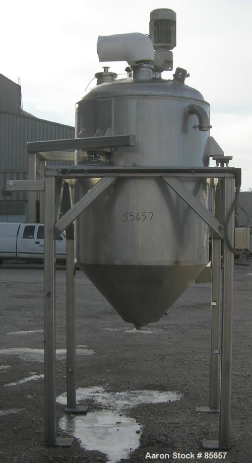 "USED: Reimelt processor/kettle, 264 gallon, 100 liter, 304 stainless steel, vertical. 39"" diameter x 48"" straight side. Dish..."