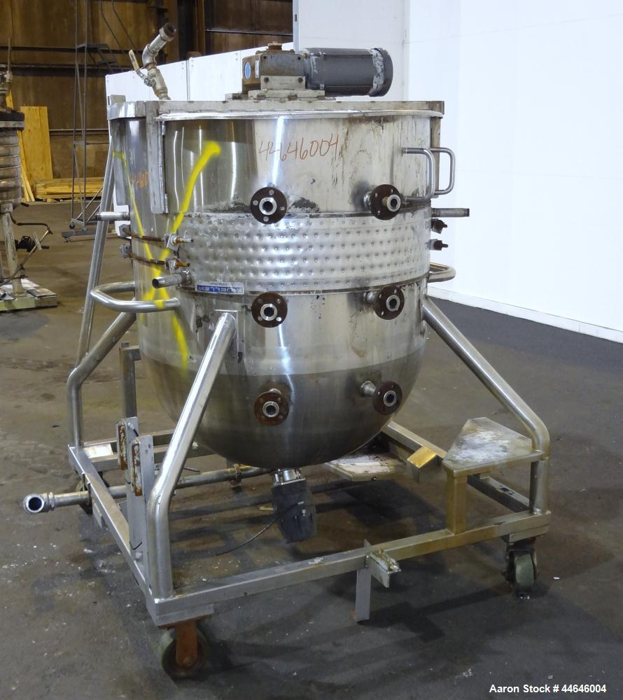 Used-  225 Gallon Stainless Steel Sani-Matic Kettle, Model 760339