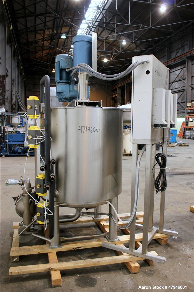 Used- Scott Turbon Triple Shaft Mixing System