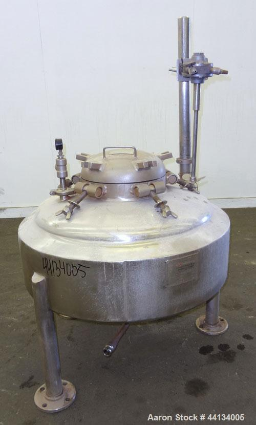 Used- 10 Gallon Stainless Steel Spartanburg Stainless Products Kettle
