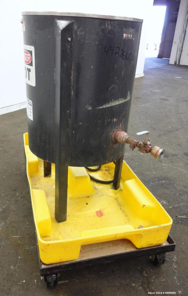 Used- 25 Gallon Stainless Steel Sta-Warm Electrically Heated Compound Melter, Model 53WSSS