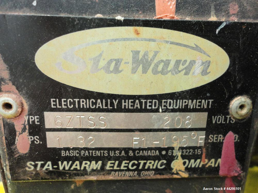 Used- Sta-Warm Electrically Heated 25 Gallon Stainless Steel Sta-Warm Electrical
