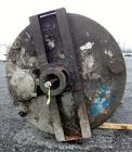 Used- Chuck Gurdin Inc. Kettle, 3000 Gallon, 304 Stainless Steel, Vertical. Approximate 84