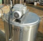 Used- Kettle, 80 Gallon, 304 Stainless Steel, Vertical. 24