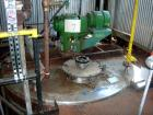 USED: Alloy Fab kettle, 4,000 gallon, stainless steel, vertical. Approximate 96