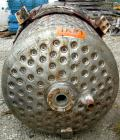 Used- Alloy Fab Kettle, 250 gallon, 304 stainless steel, vertical. Approximate 42