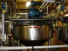 Used- APV Crepaco Double Motion Kettle, 400 Gallon, Stainless Steel. 20