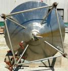 USED- Cherry Burrell 1,000 Gallon Processor Kettle, Model EPDCA, 304 Stainless Steel, Vertical. 60