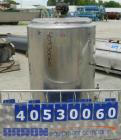 Used- Cherry Burrell Kettle, 50 gallon, model UAS50M, 304 stainless steel, vertical. Approximately 24