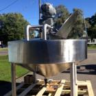 Used- Chester Jensen Dual Motion Cooker-Cooler, 300 Gallon, Model X70N-30, 316 Stainless Steel. Approximate 84