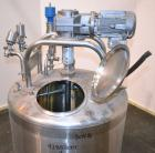 Used- DCI Processor Kettle, 350 Gallon, Model PWP-CB, 304 Stainless Steel, Vertical. 49-1/2