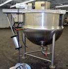 "Used- Lee Industries Double Motion Kettle, Model 300D9MT, 300 Gallon, 316 Stainless Steel, Vertical. Approximate 54"" diamete..."