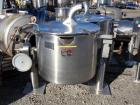Used- Lee Industries Kettle, 50 Gallon, Model 50CWD, Stainless Steel. Approximate 30