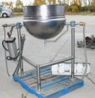 USED: Lee Trunnion Mounted Kettle, 50 gallon, 316 stainless steel, model DN50. 32