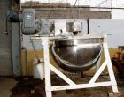 USED: Lee stainless steel, 200 gallon, double motion kettle. 50