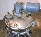 Used- Lagrange Products Kettle, 60 Gallon, 304 Stainless Steel, Vertical. Approximate 24'' diameter x 30'' straight side. Di...