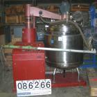 Used- 145 Gallon Stainless Steel Oskar Krieger Vacuum Kettle, Model FMU 500