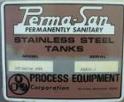 Used- Perma-San Kettle, 310 Gallons, Model JOVS, 316 Stainless Steel, Vertical. Approximately 42