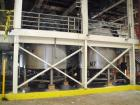 Used-Walker Mixing Kettle, 3000 gallon, 316 stainless steel, jacketed, internal atmos @ 250 deg F, jacket 75 psi @ 250 deg F...