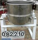 USED: Welbilt kettle, 60 gallon, model KDL-60T, 304 stainless steel. 29-1/2