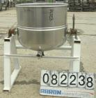 USED: Welbilt kettle, 60 gallon, model KDL-60T, 304 stainless steel. 29-1/2
