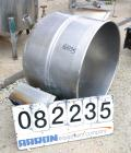 USED: Welbilt kettle, 80 gallon, model KDL-80T, 304 stainless steel. 33